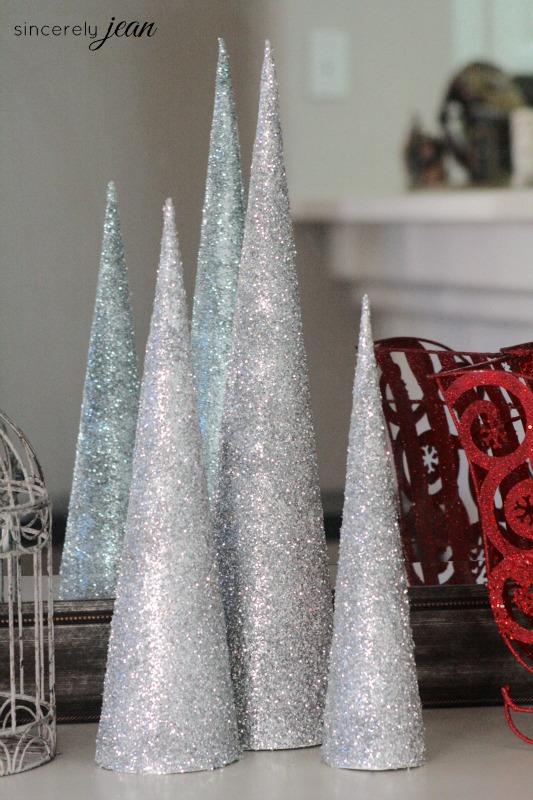 DIY Cone Christmas Tree  Sincerely Jean