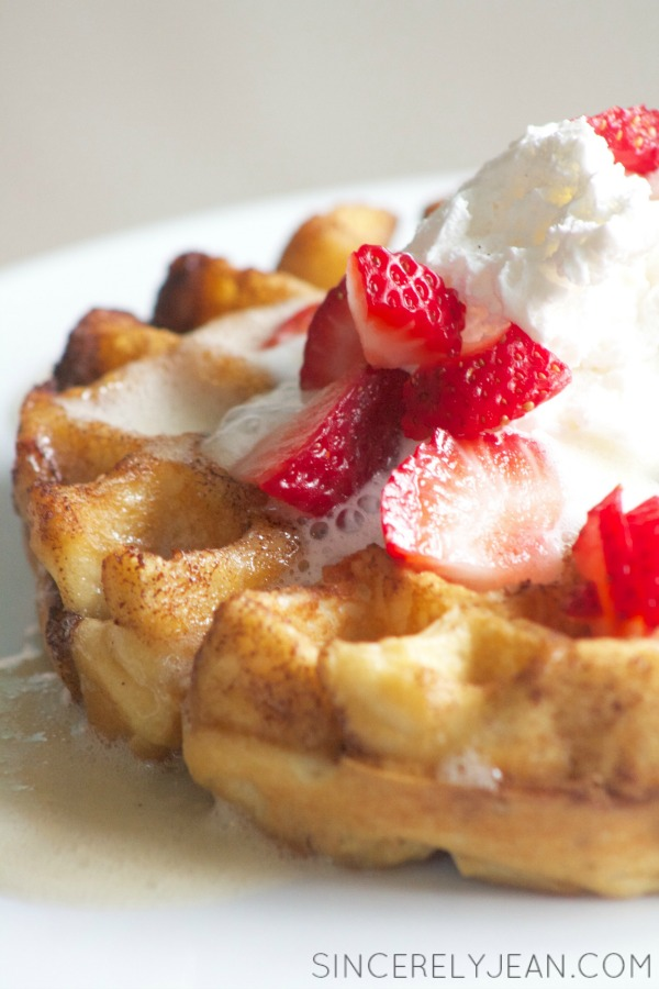 Life Changing Buttermilk Waffles