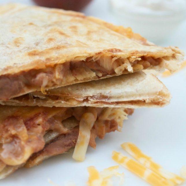 5 Ingredient Quesadillas