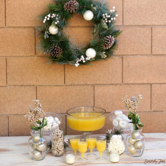 Christmas Brunch and Table Decor