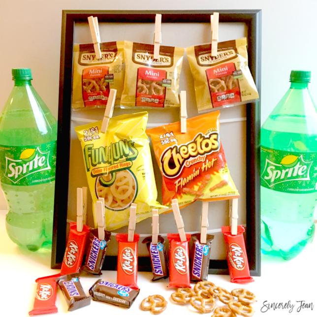 DIY Game Day Concession Stand