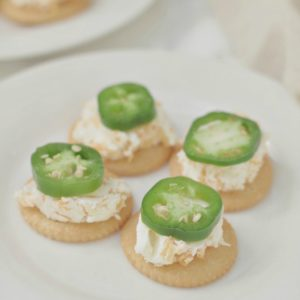 Jalepeno Cream Cheese Cracker