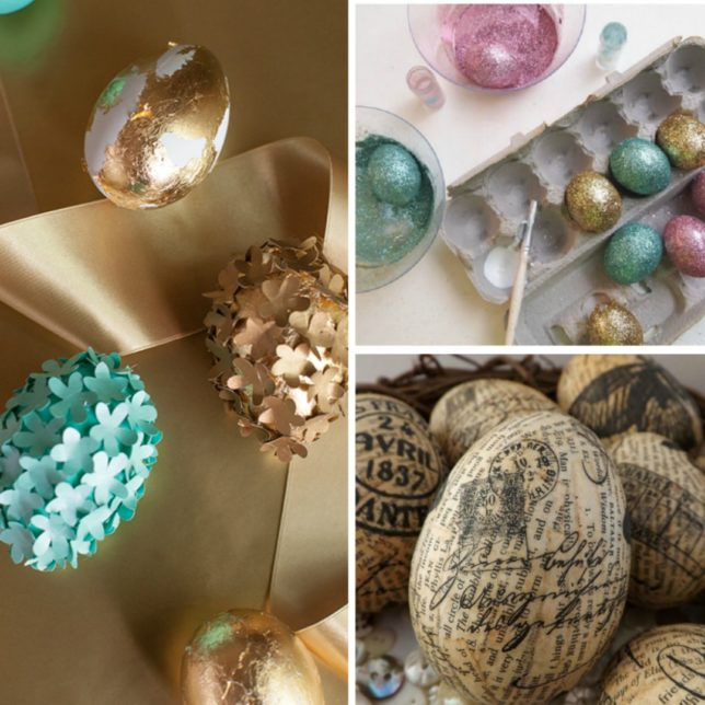 21 Unique Easter Egg Decorating Ideas