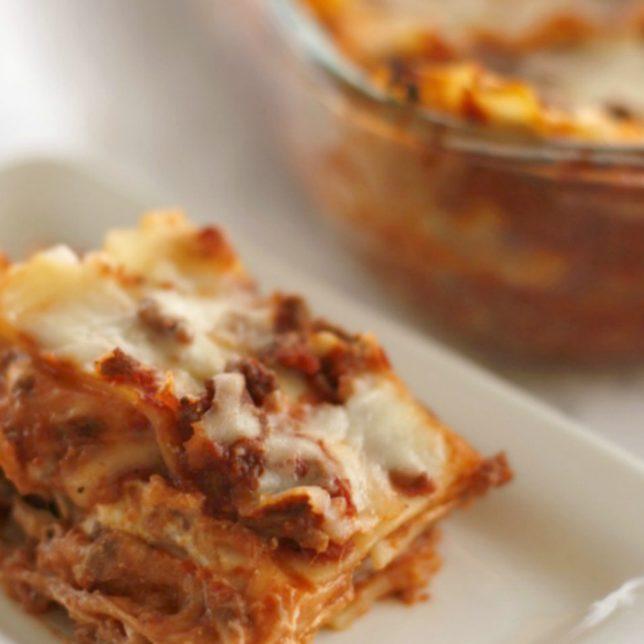 5 Ingredient Simple Lasagna