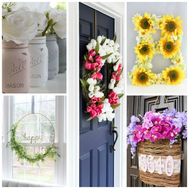 25 Spring DIY Home Decor Projects