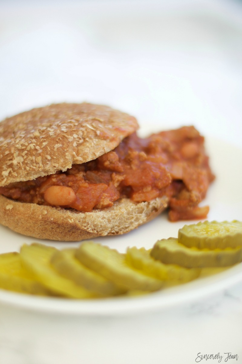 Healthy Sloppy Joes - Recipes by SincerelyJean.com