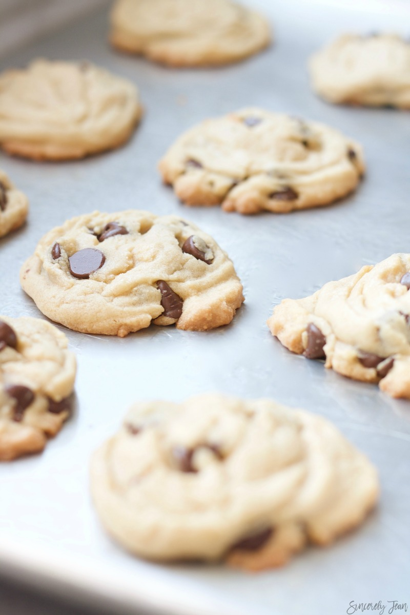 Pudding Chocolate Chip Cookies