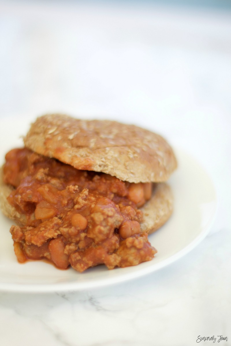 SincerelyJean.com recipes - try our healthier turkey sloppy joes