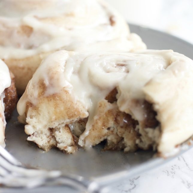 The Perfect Cinnamon Rolls