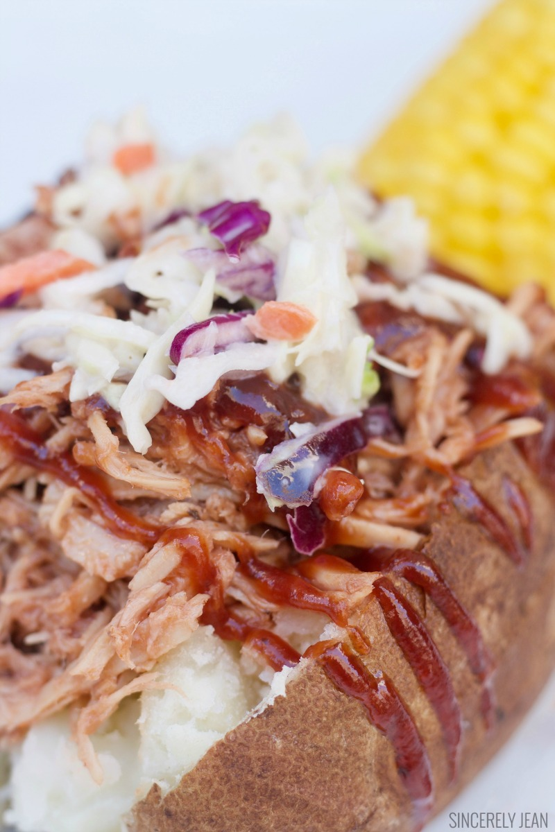 BBQ Pulled Pork Baked Potato