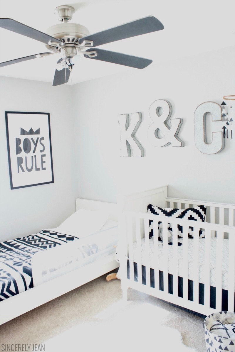 Boys Rule! - Boys Shared Room