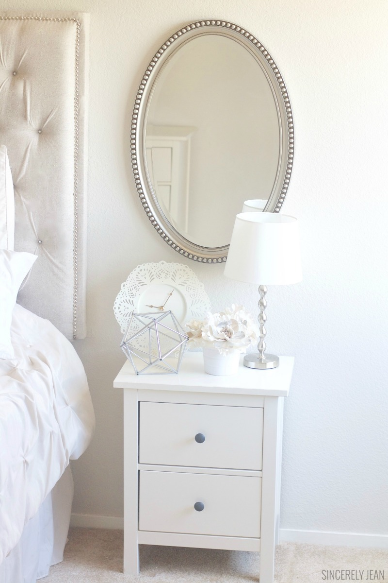 Nightstand Amp Decor On A Budget Sincerely Jean