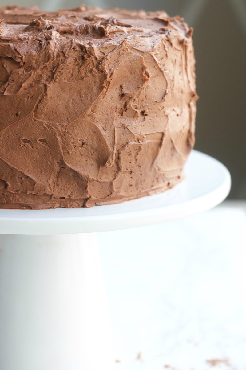 Perfect Chocolate Cake recipe moist homemade easy mix birthday