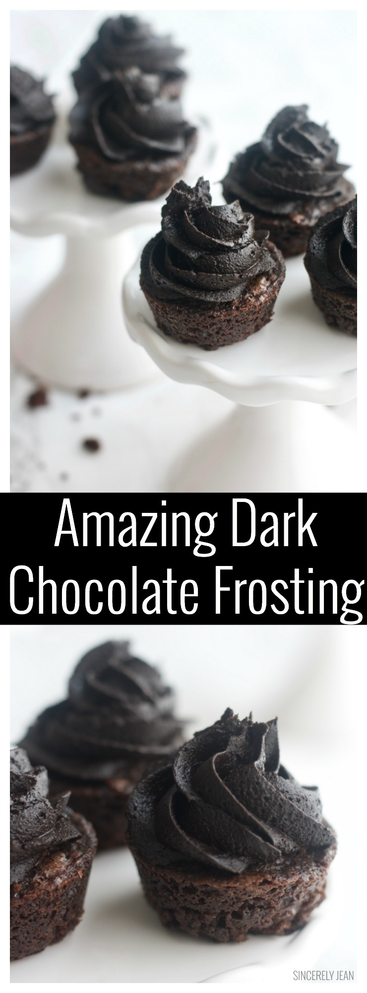 Amazing Dark Chocolate Frosting - best - recipe - homemade - rich - perfect - dessert - cake - frosting