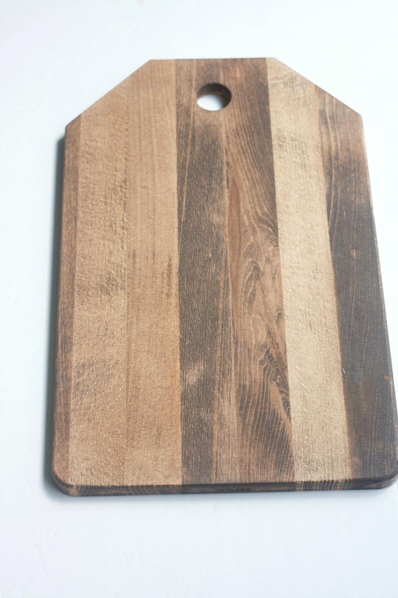 DIY Wood Monogram Door Hanger