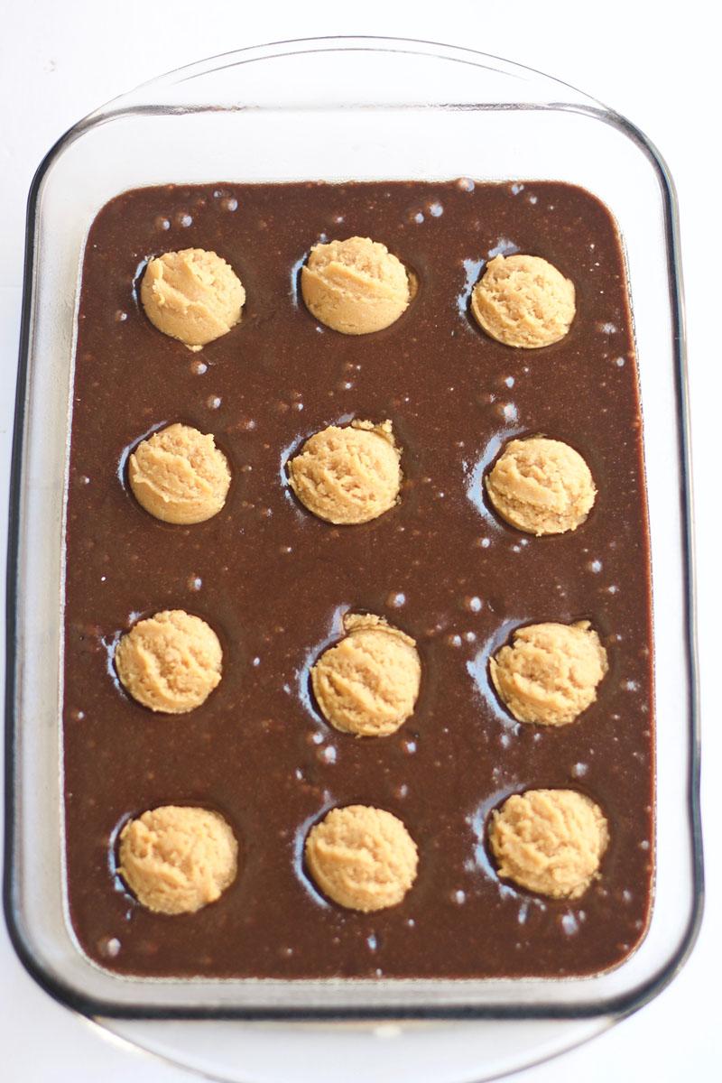 Peanut Butter Cookie Brownies homemade - dessert - brownies - recipe - easy -holidays - cookies - peanut butter cookies