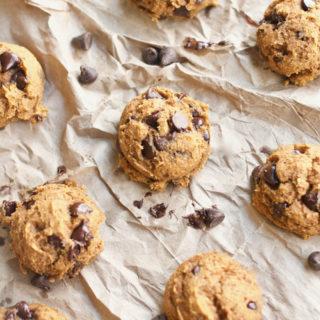 Kodiac Cake Pumpkin Chocolate Chip Cookies, homemade, cookies, healthy, easy, recipe, dessert, fall