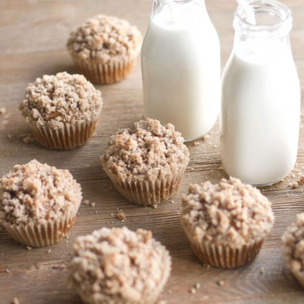 Pumpkin Streusel Muffins