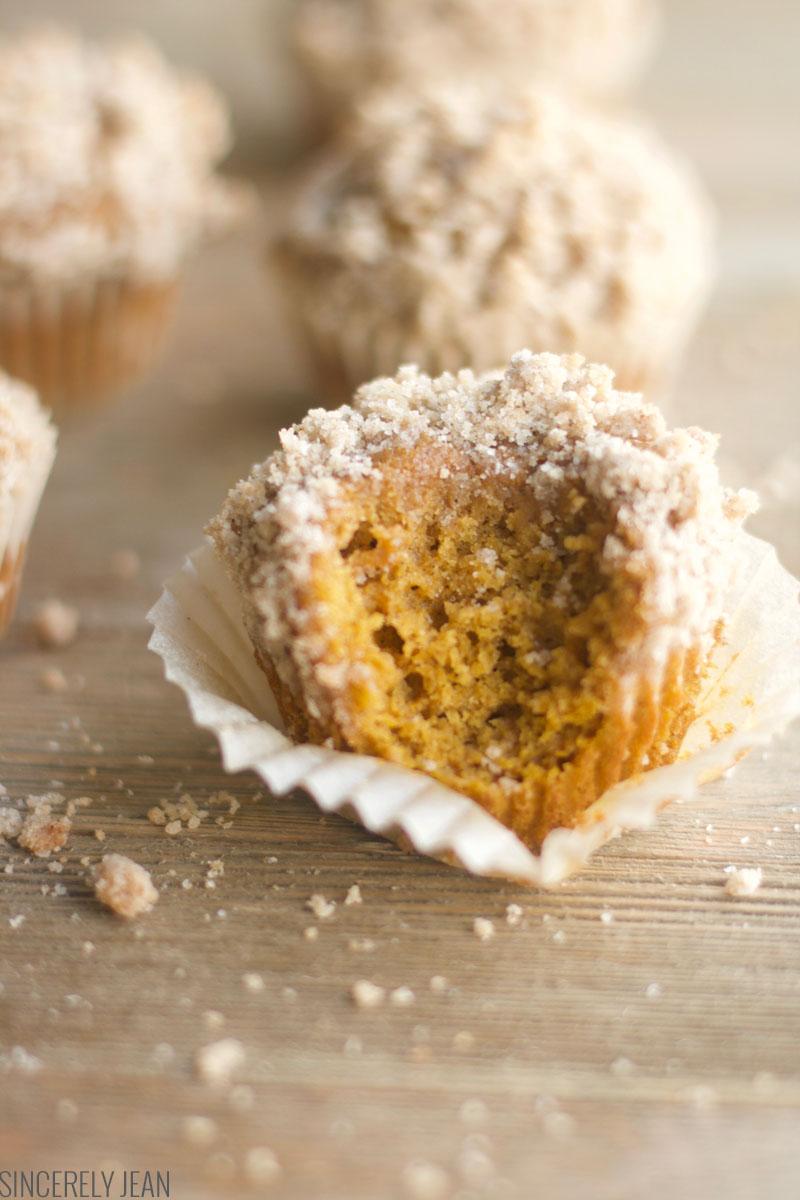 Pumpkin Streusel Muffins , muffins, homemade, quick, easy, pumpkin