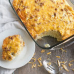 Sausage and Hash brown breakfast casserole , easy, breakfast, eggs, best, fast, simple, casserole
