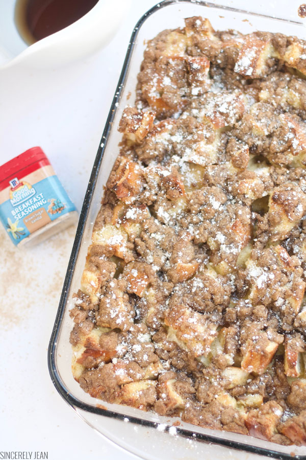 French Toast Bake - Sincerely Jean