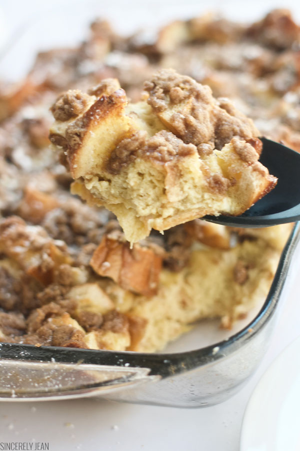 French Toast Bake - easy, best, fast, quick, breakfast, french toast, casserole