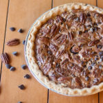 The Best Chocolate Pecan Pie - pie, chocolate, holidays, baking, easy, best