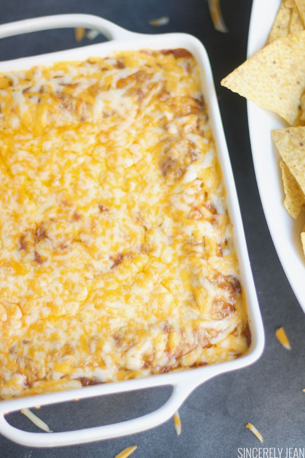 Warm Cheesy Black Bean Dip, easy, recipe, warm, cheesy, bean dip, Mexican, party, chips
