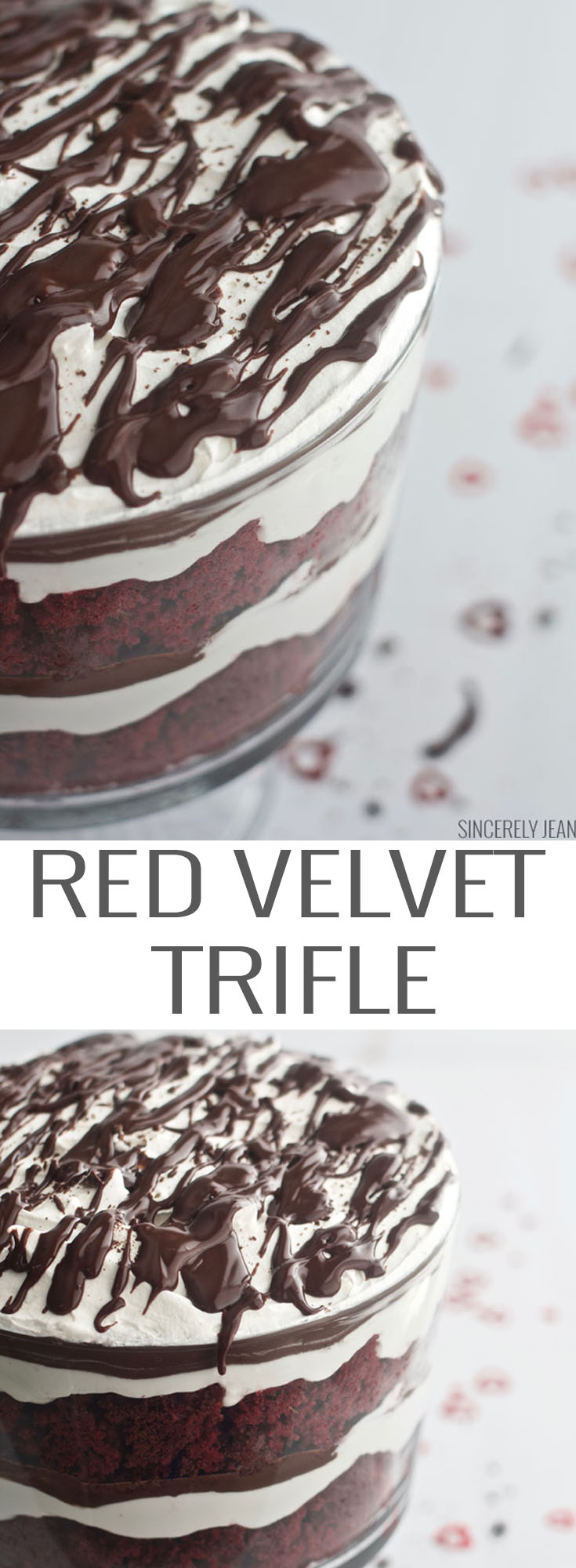 Red Velvet Trifle, valentines day, christmas, dessert, cake, trifle, chocolate, food,