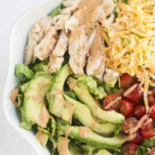 grilled chicken avocado salad, easy, healthy, simple, green, chicken, soup, salad, recipe, fast, vegetables, soup