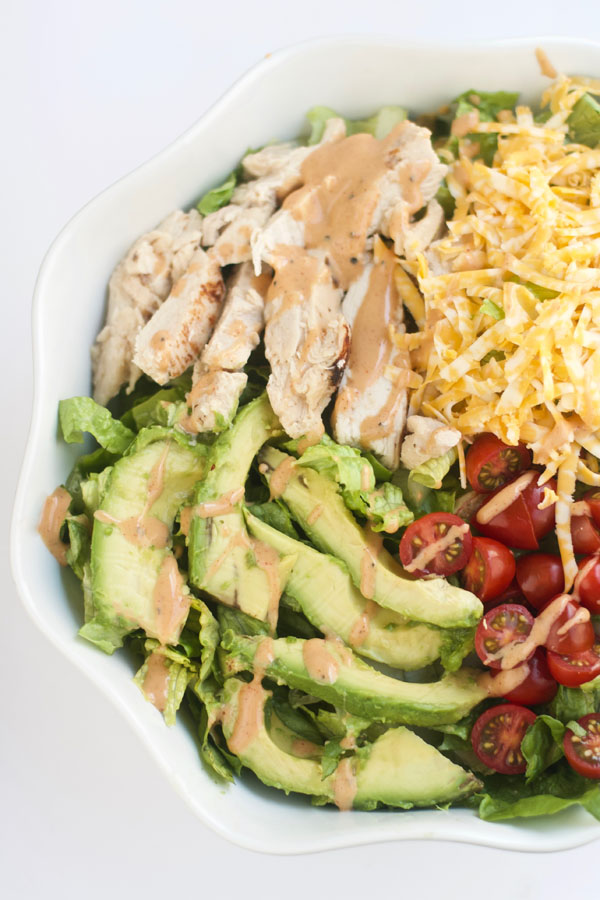 Grilled Chicken Avocado Salad