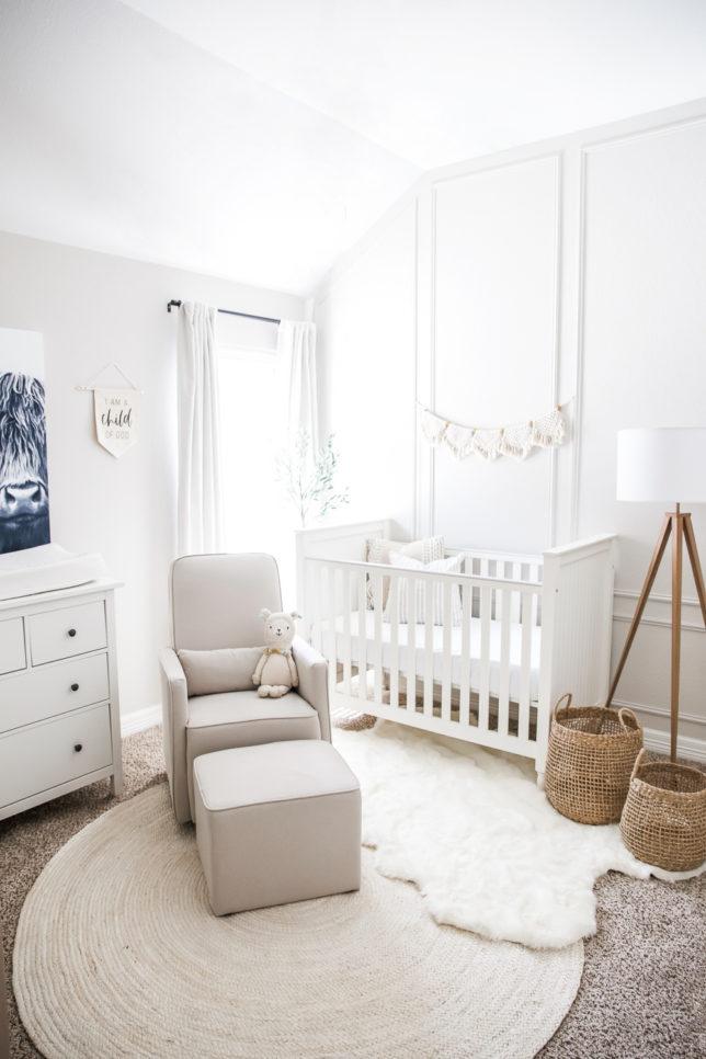 Cal's Nursery, baby, nursery, neutral, decoration, home decor